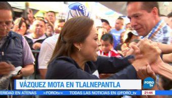 Vázquez Mota, visita, Tlalnepantla, PAN, acción nacional, Edomex