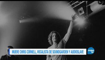 Muere, vocalista, Audioslave y Soundgarden, Chris Cornell, música, luto