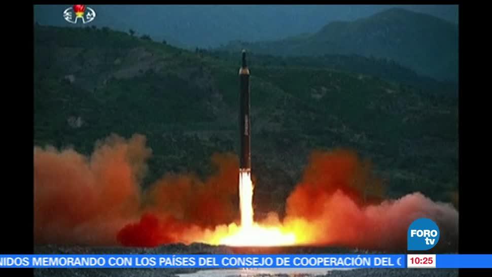 Corea del Norte, misil de mediano alcance, pruebas balísticas, semana