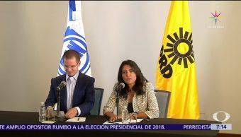 Ricardo Anaya, líder nacional, Alejandra Barrales, frente amplio opositor