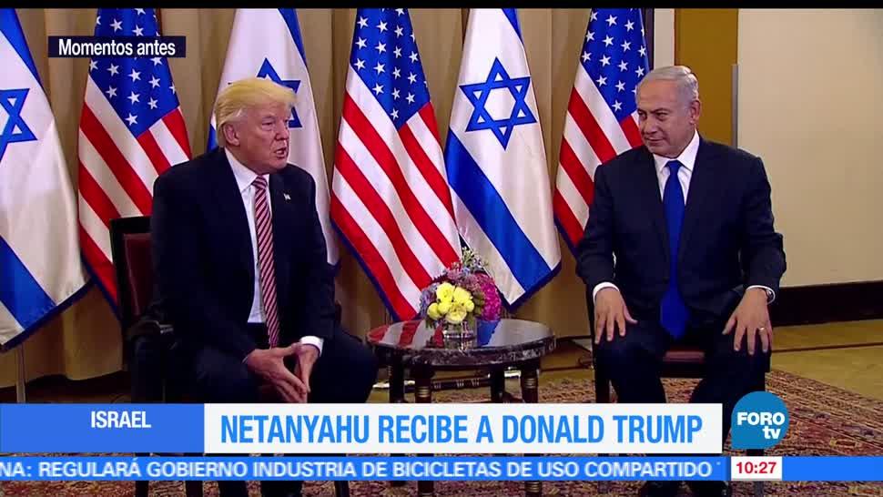 presidente de Estados Unidos, Trump, primer ministro israelí, Netanyahu
