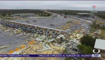 Servicio Meteorológico Nacional, tornado, nube de tormenta, Reynosa