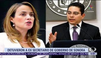 Detienen al exsecretario, Gobierno de Sonora, colaborador, Roberto Romero López
