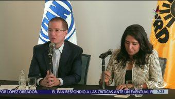 Ricardo Anaya, líder del PAN, críticas, frente opositor, PRI