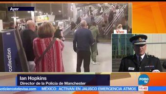 Policía de Manchester, Ian Hopkins, atacante, Manchester Arena, Salman Abedi