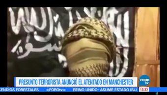 redes sociales, video, presunto atacante, Manchester Arena, atentado