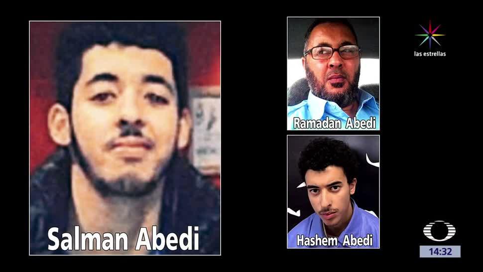 noticias, televisa, Caen, padre y hermanos, terrorista, Manchester