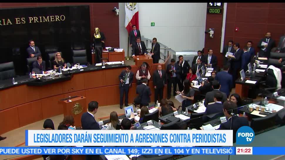 Congreso mexicano, refrenda, compromiso, libertad de expresión, periodistas, crimen