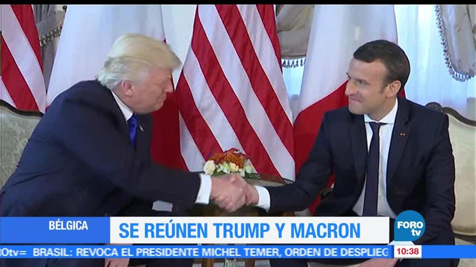 Bélgica, Donald Trump, Emmanuel Macron, elección presidencial