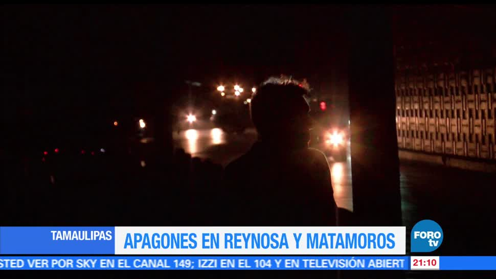 Tamaulipas, queda, sin luz, Reynosa, Dallas, Texas