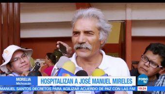 Hospitalizan, José Manuel Mireles, Lider, autodefensas, michoacán, morelos