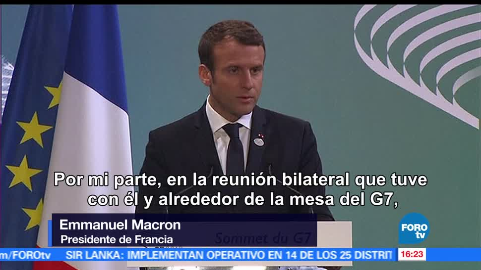 Estados Unidos, ratificar, acuerdo parís, Emmanuel Macron, Fracia, Cambio climático