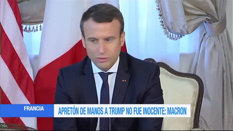 Polémica, Macron, presidente francés, OTAN