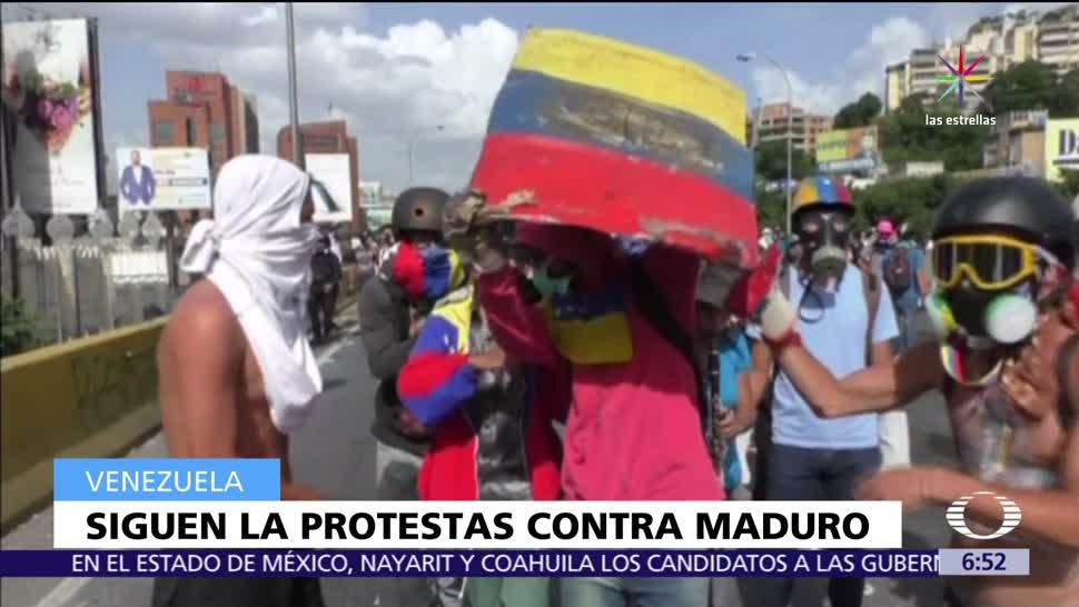 59 muertos, manifestaciones en Venezuela, Nicolás Maduro, muerte del militar