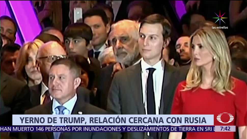 Jared Kushner, Donald Trump, canal secreto de comunicación, Rusia, The Washington Post