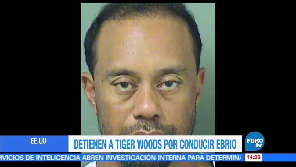 Detienen, Tiger Woods, Florida, golfista