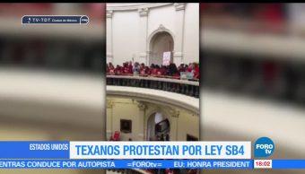 noticias, forotv, Protestan, contra, ley SB4, Texas