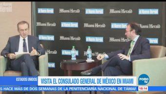 Luis Videgaray, visita de trabajo, Estados Unidos, secretario de Relaciones Exteriores
