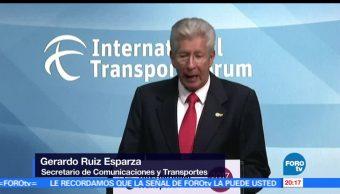 México, preside, Foro Internacional de Transporte, Alemania, SCT, Gerardo Ruiz