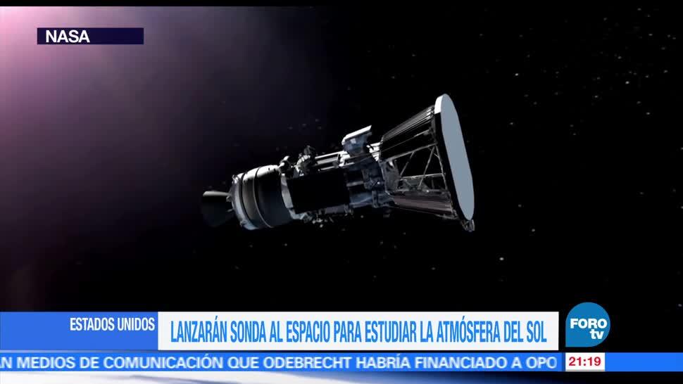 NASA, sonda, estudiar, atmósfera, Sol, agencia espacial
