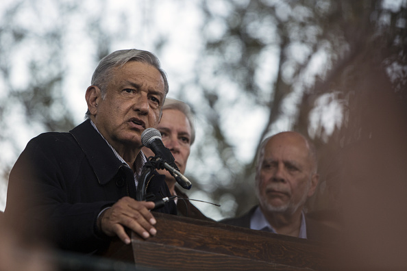 Andres Manuel López Obrador, presidente de Morena