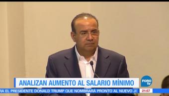 Analizan, aumento, salario mínimo, México, secretaria del trabajo, STPS