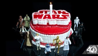 Aniversario 40 de la cinta de Star Wars