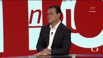 entrevista, candidato, gubernatura, Estado de México, Juan Zepeda, Denise Maerker