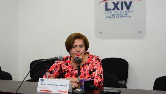 Diputada de Morena Eva Felícitas Cadena Sandoval