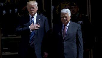 Donald Trump, Mahmud Abbas, Manchester, atentado, terrorismo, ariana grande