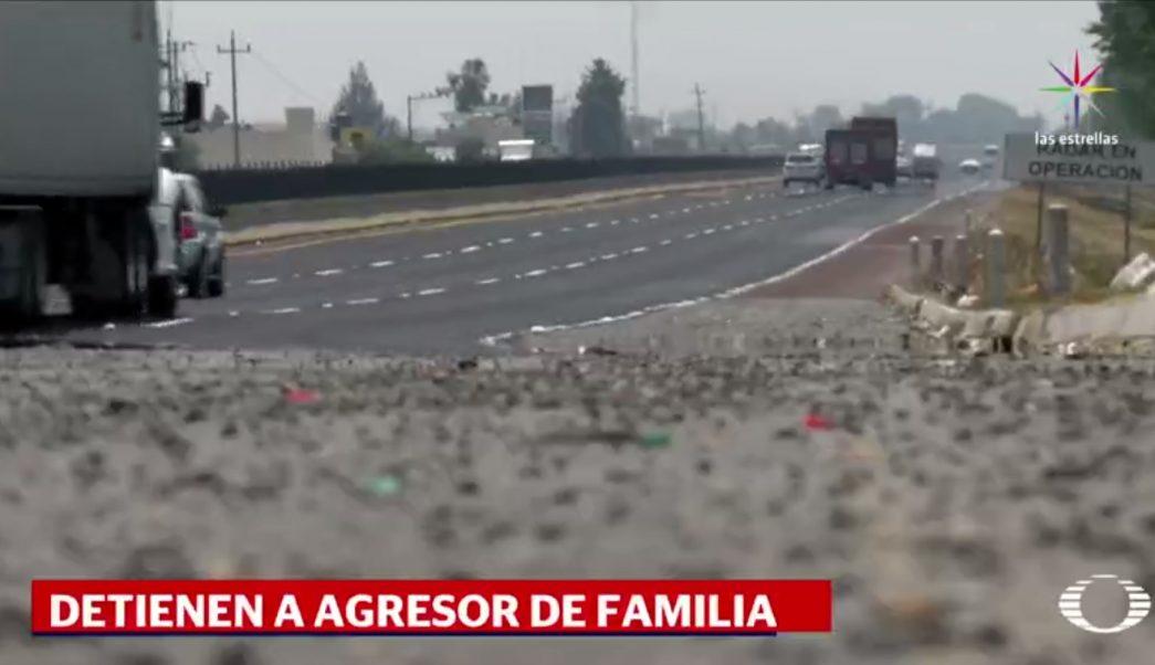 México-Puebla, autopista, agresión, familia, muere bebé, seguridad