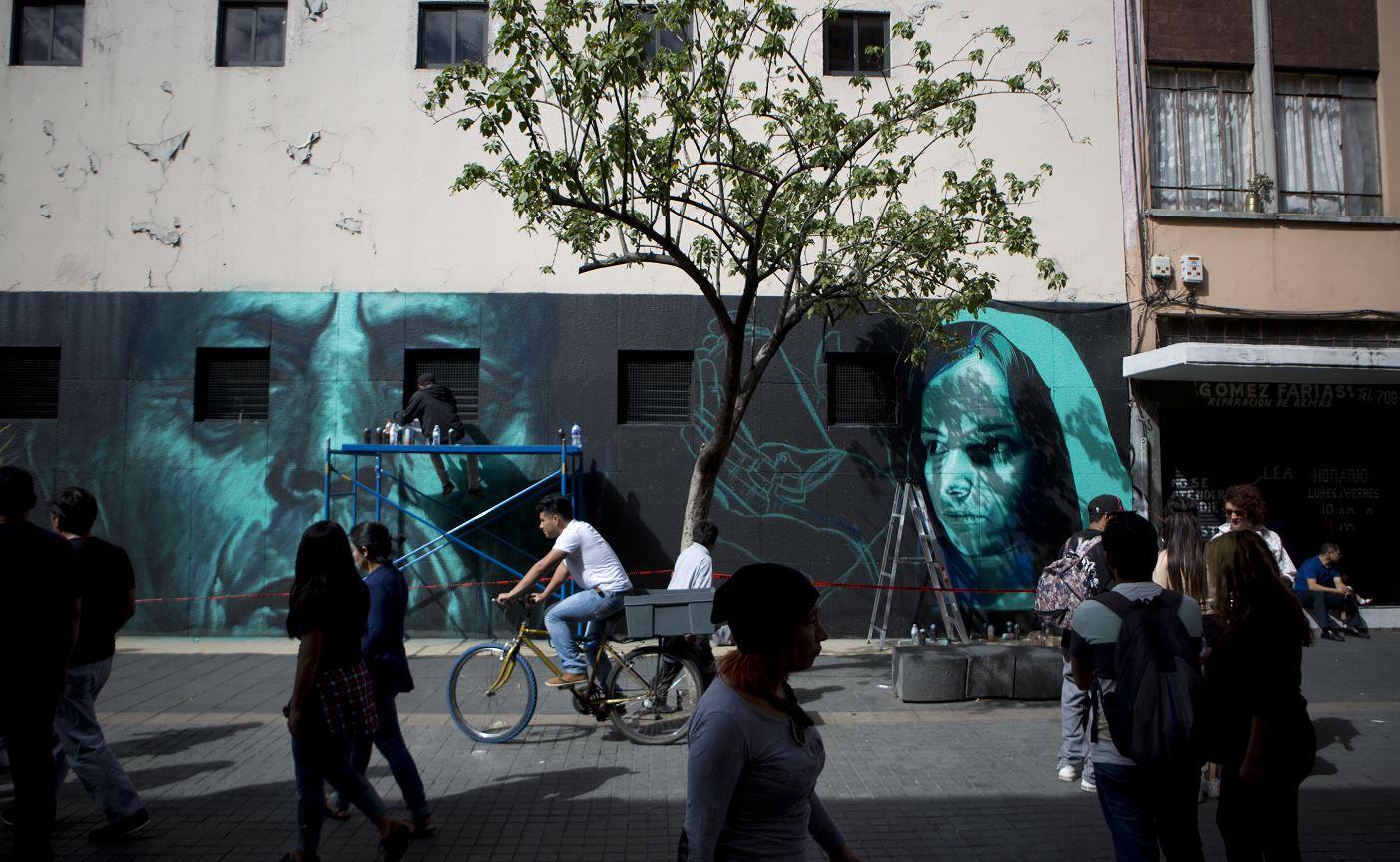Graffiti ilegal afecta el 70 de las construcciones de la - Ap construcciones ...