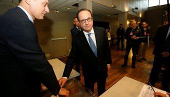 Hollande, elecciones, francia, emmaneul macron, candidato, reeleccion