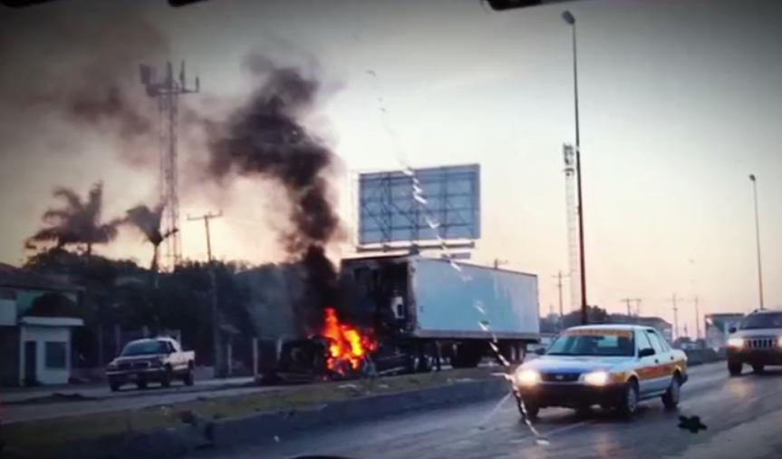 Reynosa, Tamaulipas, incendio
