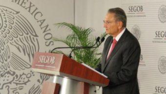 Luis Felipe Puente, coordinador Nacional de Protección Civil de la Secretaría de Gobernación (Segob)