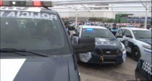 Policías en Guanajuato realizan operativo en la entidad