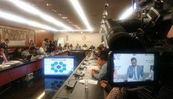 Santiago Nieto y la Comisión de Seguimiento a Procesos Electorales Locales