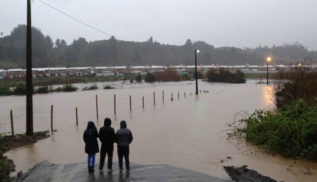 inundaciones, Chile, temporal, inundaciones, desbordamiento río