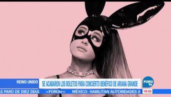 Todo listo, concierto, Ariana Grande, Manchester, ayudar, victimas atentado