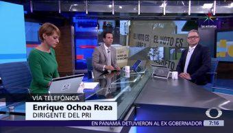 Enrique Ochoa Reza, líder del PRI, elecciones, Coahuila, Nayarit, Veracruz