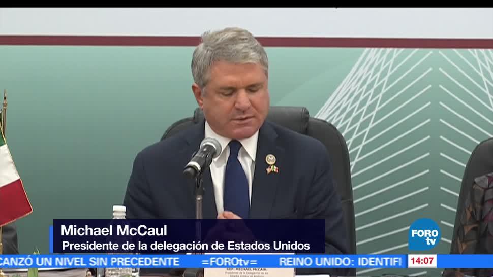 Inicia Reunión, Interparlamentaria, México-Estados Unidos, Ciudad de México CDMX