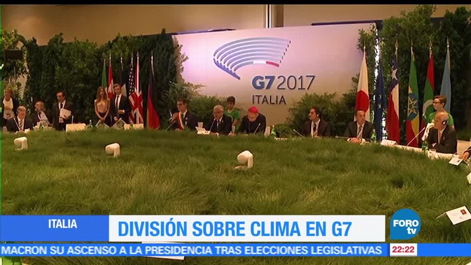 G7, mantienen, diferencias, cambio, climático, Estados Unidos