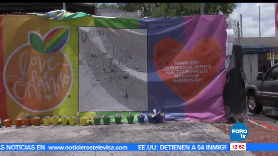 Familiares y ciudadanos, primer aniversario, ataque, club gay Pulse, Orlando, Florida
