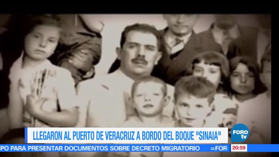 noticias, forotv, Efeméride, En Una Hora, Llegan a México, exiliados españoles