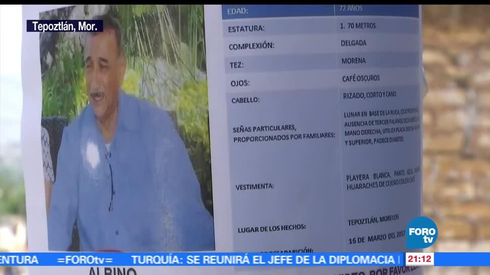 noticias, forotv, Maestro, desaparecido, Tepoztlán, Morelos