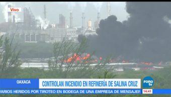 noticias, forotv, Reportan evacuación, 6 colonias, aledañas, refinería de Salina Cruz
