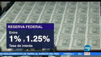 Fed, eleva, tasas, intereses, reserva federal, economía de EU