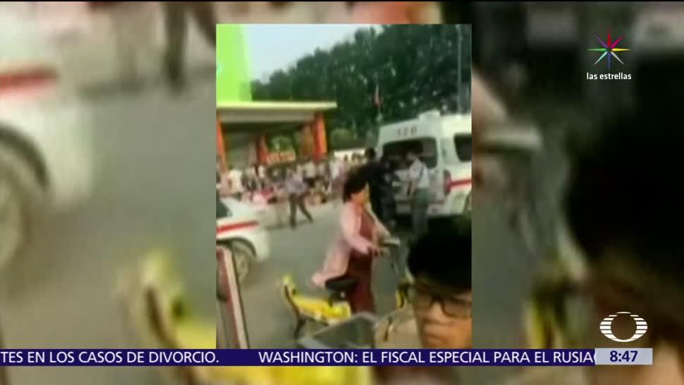 Explosión en guardería, guardería de China, menores, 7 muertos