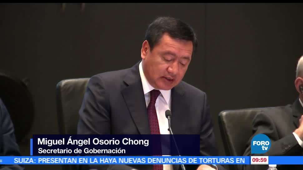 Miguel Ángel Osorio Chong, titular de Segob, Centroamérica