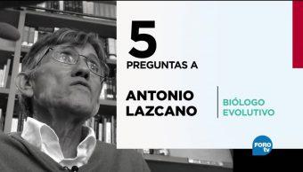 Cinco, preguntas, Antonio, Lazcano, biólogos, científicos